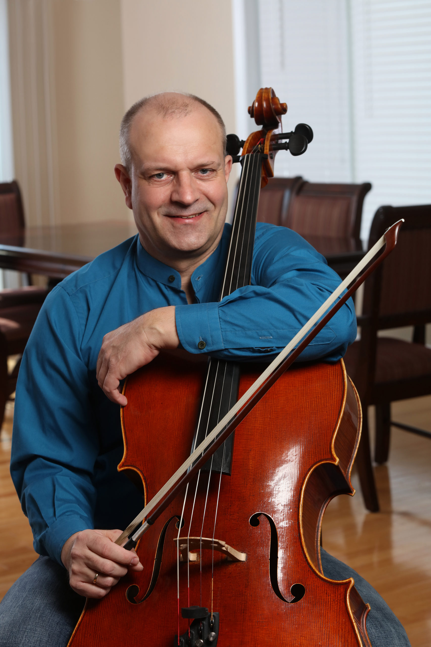Wolf with his Cello